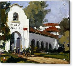 Bowers Museum Acrylic Print by Mark Lunde