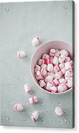 Bowl Of Sweets Acrylic Print by Elin Enger