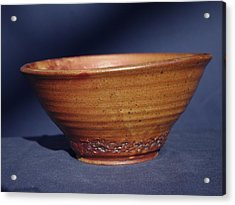 Bowl With Texture Acrylic Print