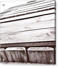 #box #woodenbox #case #woodencase Acrylic Print