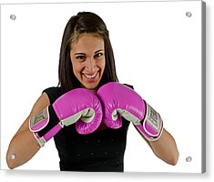Acrylic Print featuring the photograph Boxer by Jim Boardman