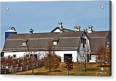 Acrylic Print featuring the photograph Boys Town Farm by Edward Peterson