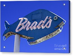 Acrylic Print featuring the photograph Brad's Fish by Denise Pohl