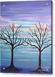 Acrylic Print featuring the painting Branching Out by Stacey Zimmerman
