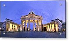 Brandenburger Tor Berlin Acrylic Print by Greta Schmidt