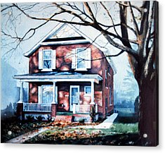 Brant Avenue Home Acrylic Print by Hanne Lore Koehler