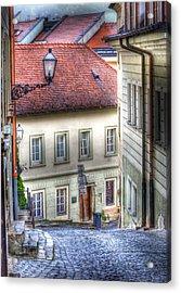 Bratislava. As The City Sleeps Acrylic Print
