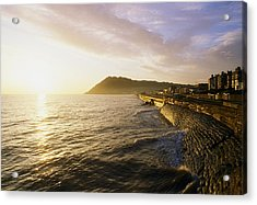 Bray Promenade, Co Wicklow, Ireland Acrylic Print by The Irish Image Collection