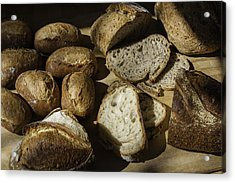 Bread Acrylic Print by Michael Wessel