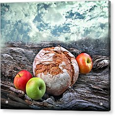 Bread Of The World Acrylic Print by Manfred Lutzius