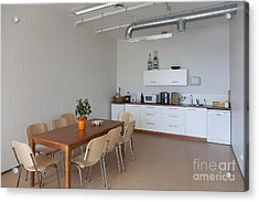 Break Room Acrylic Print by Jaak Nilson