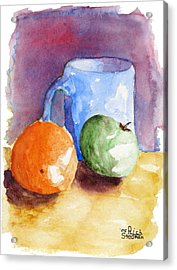 Breakfast Choices Acrylic Print