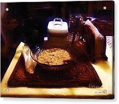 Breakfast Of Champions Acrylic Print by RC DeWinter