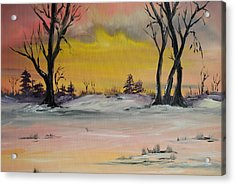 Breaking Dawn Acrylic Print by James Higgins
