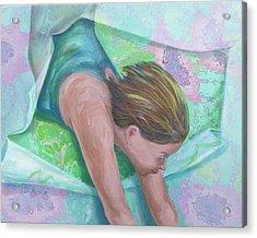 Breaking Free Acrylic Print by Diane Nelson