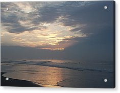 Breaking Through Acrylic Print by Bill Cannon