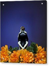 Bridal Bliss Acrylic Print by Dexter Fassale
