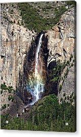 Bridal Veil Falls Acrylic Print by Tina Karle