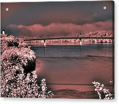 Acrylic Print featuring the photograph Bridge Across The Mo by William Fields