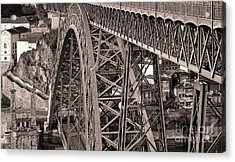 Bridge Construction Acrylic Print