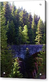 Bridge In The Middle Of Beauty Acrylic Print