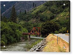 Acrylic Print featuring the photograph Bridge On Highway 70 by Gary Rose