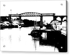 Acrylic Print featuring the photograph Bridge On The Boyne by Charlie and Norma Brock