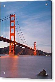 Bridge Over Milky Bay Acrylic Print