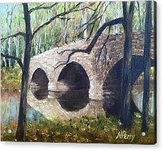 Bridge Over The Perkiomen Acrylic Print
