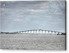 Bridge Passage Acrylic Print by Barry R Jones Jr