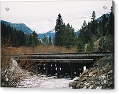 Bridge The Gap Acrylic Print by Christopher Griffin