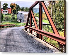 Bridge To A Simpler Time Acrylic Print by JC Findley