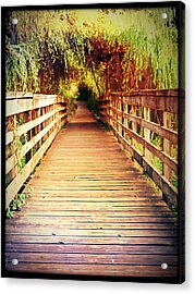 Bridge To Serenity Acrylic Print by Lee Yang