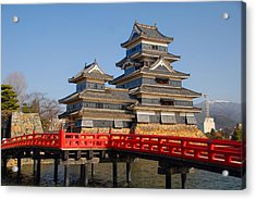 Bridge To The Matsumoro Castle Acrylic Print
