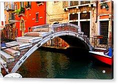 Bridge Without Railings Acrylic Print by Barbara Walsh