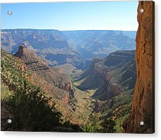 Bright Angel Trail Acrylic Print by Pasha Sourbeer