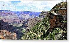 Acrylic Print featuring the photograph Bright Angel Trail by Paul Mashburn