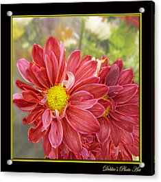 Acrylic Print featuring the digital art Bright Edges by Debbie Portwood