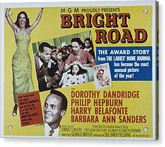 Bright Road, Dorothy Dandridge, Harry Acrylic Print by Everett