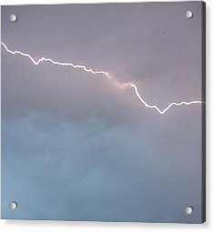 Acrylic Print featuring the photograph Brilliant Bolt by Elizabeth  Sullivan