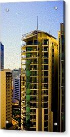 Brisbane 25th Floor 02 Acrylic Print by Joe Michelli