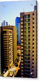 Brisbane 25th Floor 03 Acrylic Print by Joe Michelli