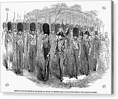 Britain: Fusiliers, 1854 Acrylic Print by Granger