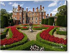 British Garden  Acrylic Print by Adrian Evans