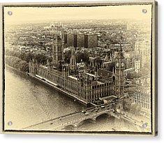 British Parliment Acrylic Print by Scott Massey
