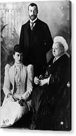 British Royal Family. Mary, Duchess Acrylic Print by Everett