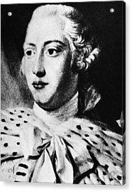 British Royalty. British King George Acrylic Print by Everett