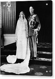 British Royalty. British Lady Elizabeth Acrylic Print by Everett