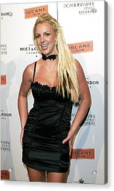 Britney Spears At Arrivals Acrylic Print by Everett