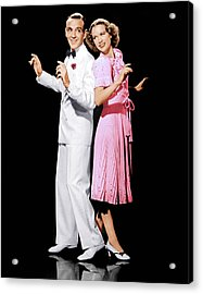 Broadway Melody Of 1940, From Left Fred Acrylic Print by Everett
